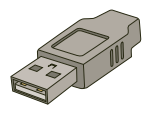 File:USB Type A 4 Pin.png